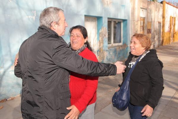 Cobos visitó el este provincial