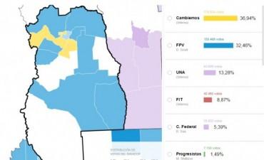 Elecciones 2015: Scioli vs Macri , en el Este