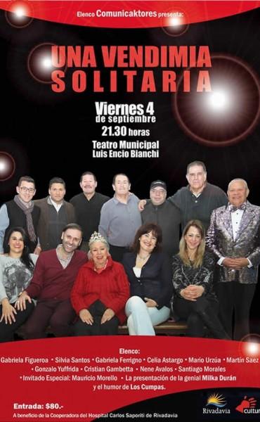 El elenco Comunicaktores se presentará en Rivadavia