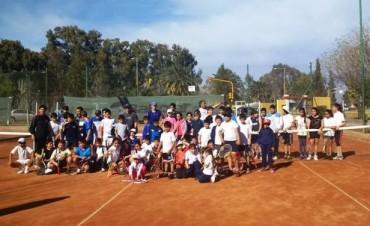 Tenis: Se realizó un Gran Encuentro de Mini Tenis en el RTC