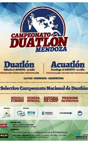 En La Paz se disputarán competencias de Duatlón y Acuatlón