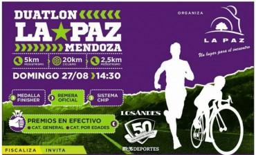 La Paz será sede de la primera fecha del Circuito Mendocino de Duatlón