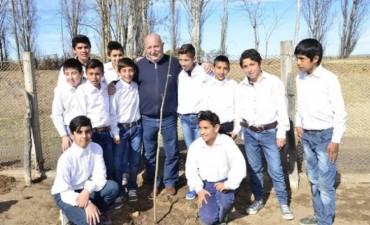 Rivadavia: Acto por el Día del Árbol