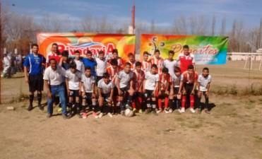 Encuentro de escuelas de fútbol del departamento de Rivadavia