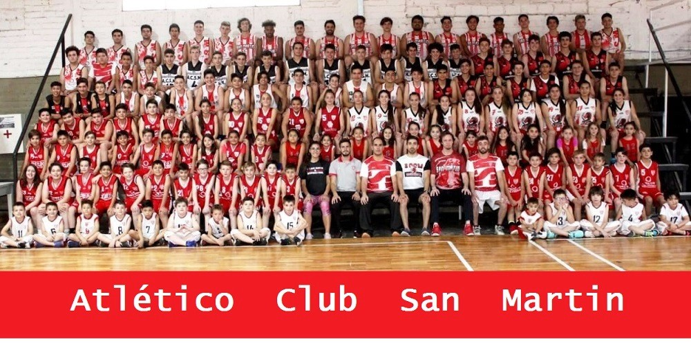 El Atlético Club San Martín también es básquetbol