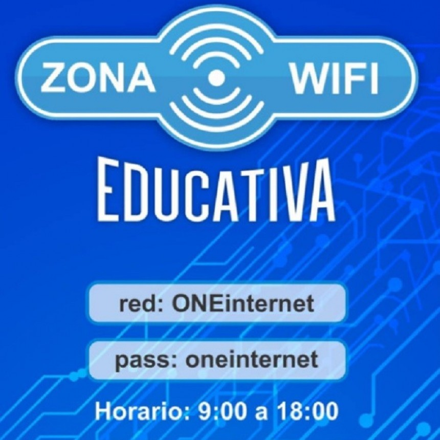 Nuevas zonas wifi en Rivadavia