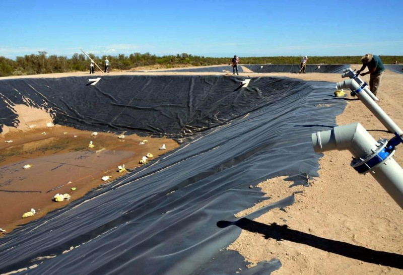 Santa Rosa: suspendieron inauguración de planta cloacal por muerte de operario