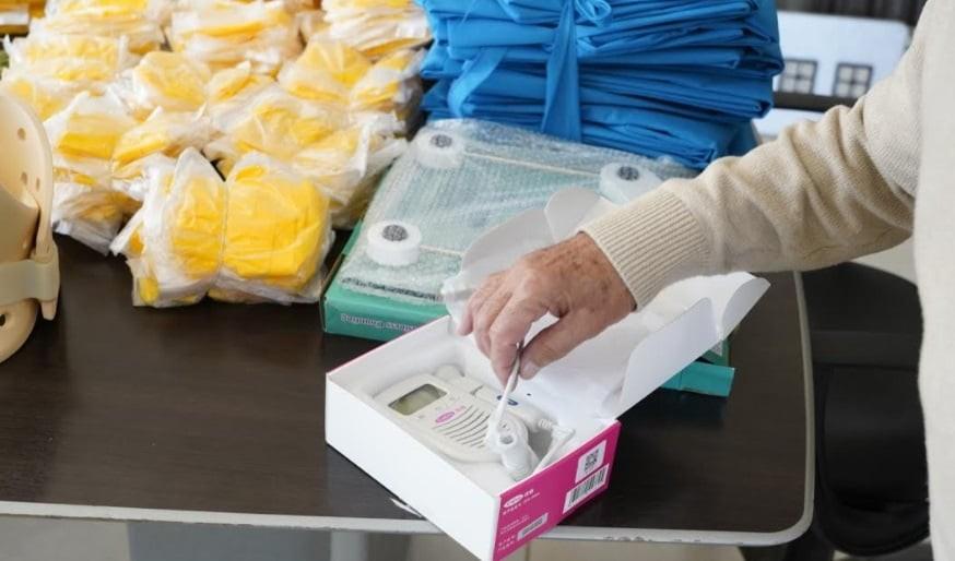 El municipio de Junín entregó materiales para los centros de salud de El Topón y El Martillo
