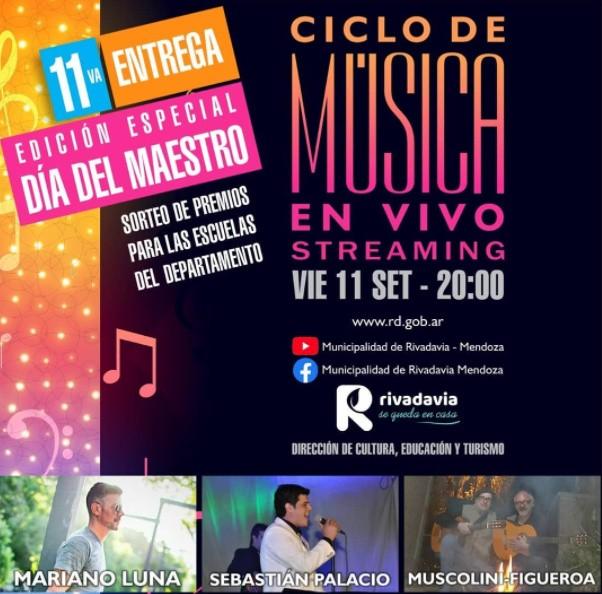 Ciclo de Música en Vivo – Día del Maestro