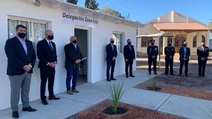 Se inauguró la nueva delegación Zona Este del Instituto Universitario de Seguridad Pública