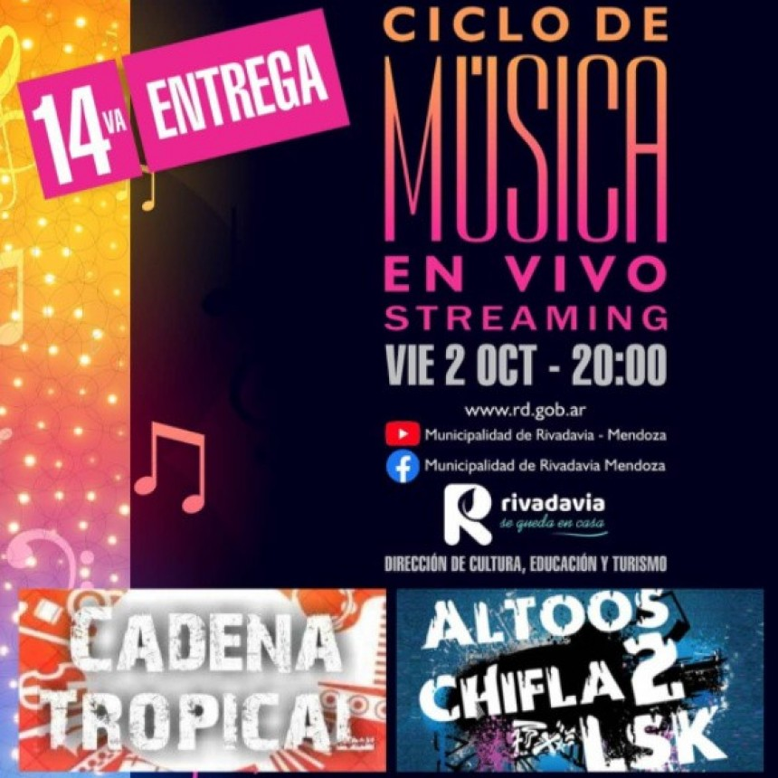 Ciclo de Música en Vivo – Streaming