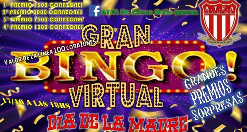 Eliseo Ortiz realiza su segundo Bingo Virtual