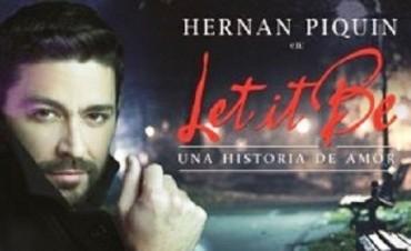Hernán Piquín presentará su nuevo espectáculo en Rivadavia