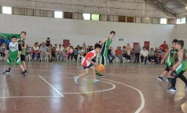 Se realizó un encuentro de básquet en La Paz