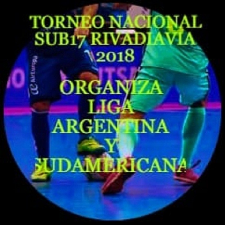 En Rivadavia se disputará el Nacional de FutSal Sub 17