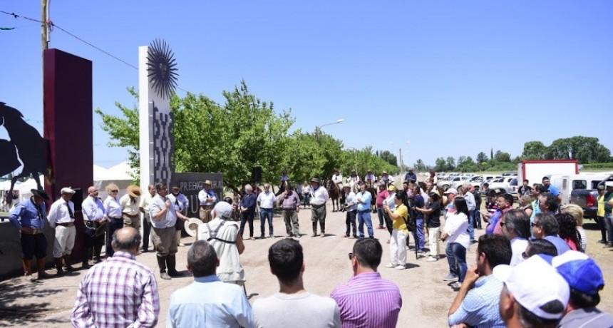 Se inauguró el Predio Rural Junín