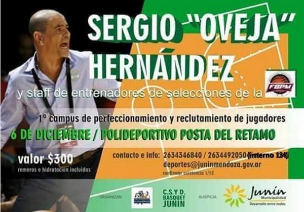 1er campus de perfeccionamiento y reclutamiento de jugadores en Junín