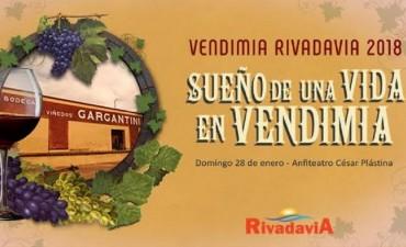 Rivadavia: Comienzan los ensayos para 'Sueños de una vida en vendimia'