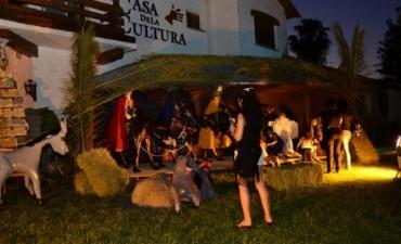 Pesebre en la Casa de la Cultura de Rivadavia