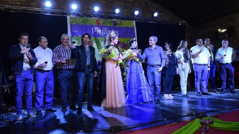 Philipps coronó su soberana vendimial 2019