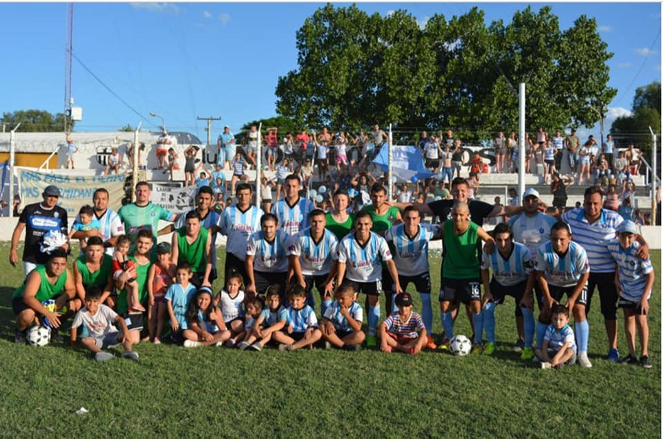 La Dormida nuevamente campeón de la Liga Rivadaviense