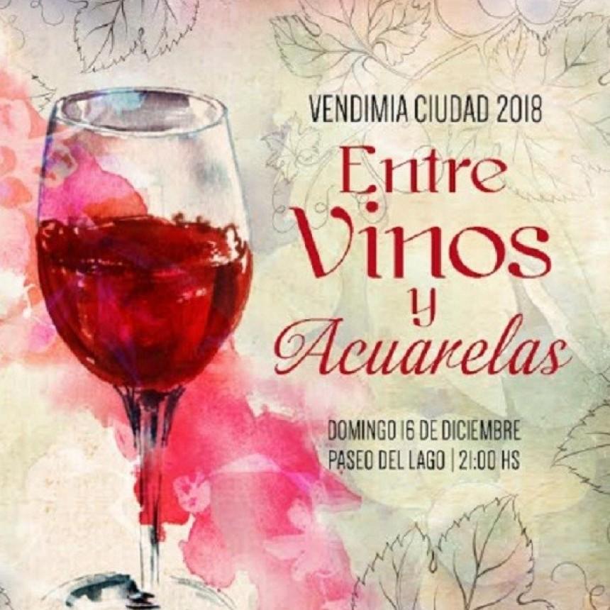 """Rivadavia: Vendimia de Ciudad entre """"Vinos y Acuarelas"""""""